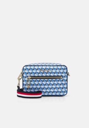 ICONIC CAMERA BAG MONOGRAM - Across body bag - blue