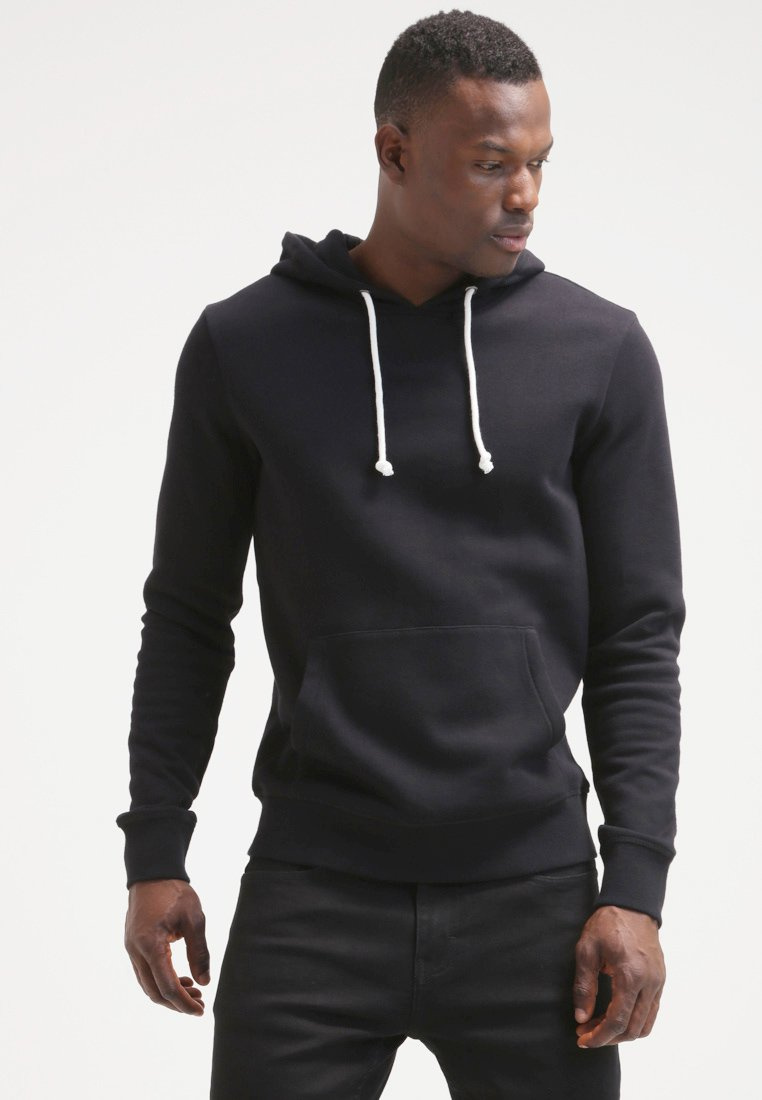 Pier One - Sweat à capuche - black