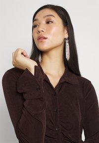Gina Tricot - DOLLY DRESS - Jerseyklänning - coffee bean - 3