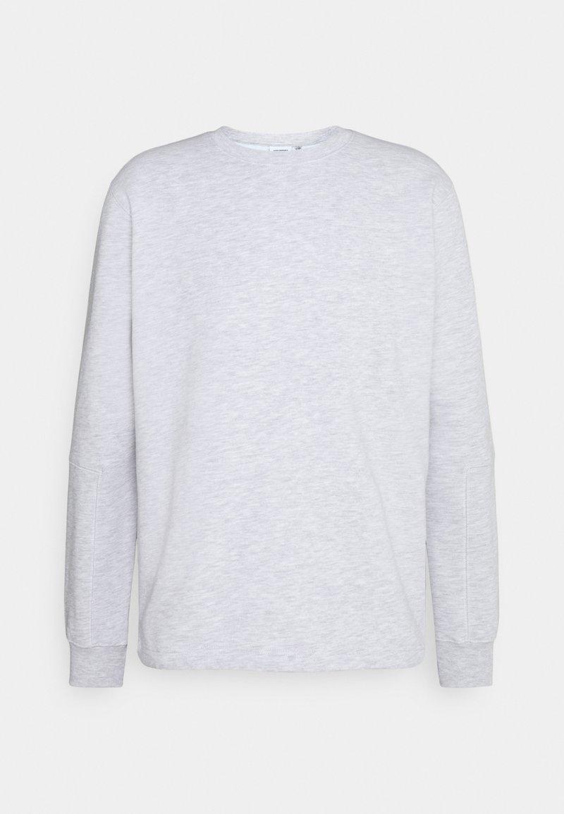 Cleptomanicx - SAVE THEM - Sweatshirt - light heather gray