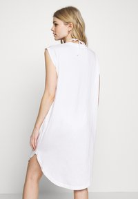 Calvin Klein Swimwear - INTENSE POWER DRESS - Doplňky na pláž - classic white - 2