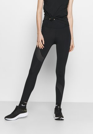 SPEED POCKET ANKLE  - Leggings - black