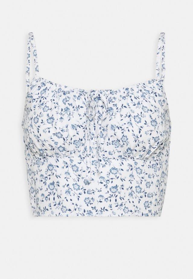 TIE BARE - Bluser - white