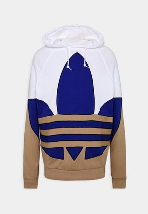OUT HOOD - Jersey con capucha - white/royblu/trakha