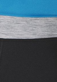 Nike Performance - ONE 7/8 - Medias - black/light photo blue/chile red/black - 6