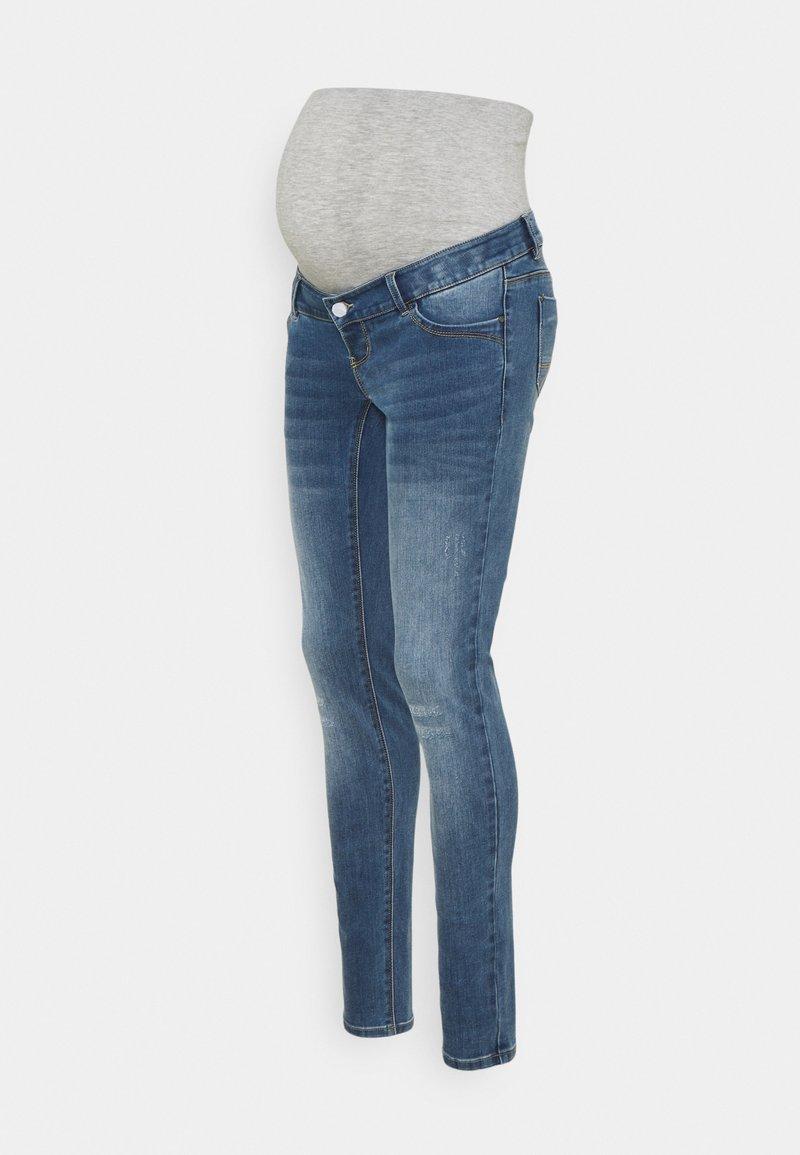MAMALICIOUS - MLMOSS SLIM  - Jeans Skinny Fit - medium blue denim