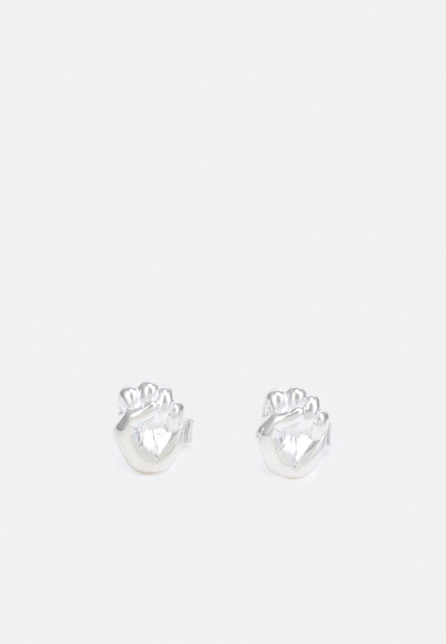 EARRING GIRLPOWER - Orecchini - silver-coloured