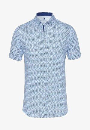 MODERN BD  - Shirt - white cobalt print