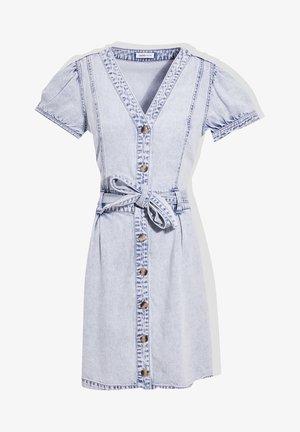 Jersey dress - denim bleach