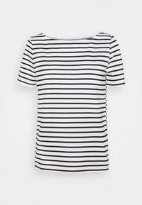 Pieces - PCINGRID - Print T-shirt - bright white/black - 0