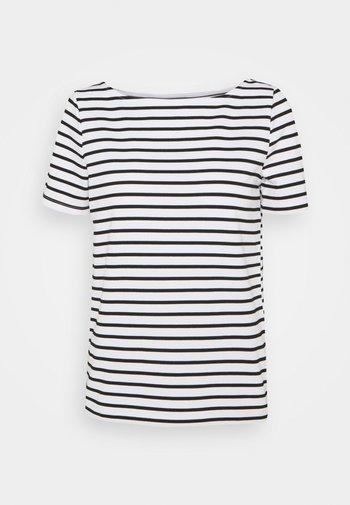 PCINGRID - Print T-shirt - bright white/black