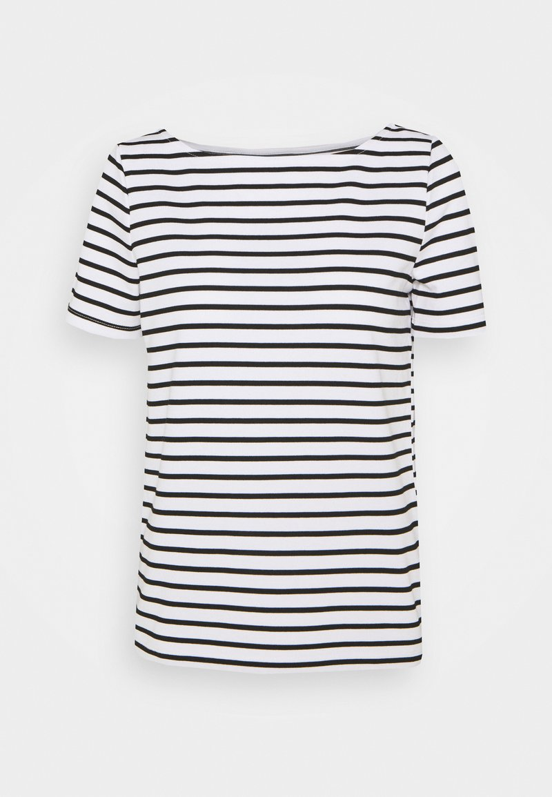 Pieces - PCINGRID - Print T-shirt - bright white/black