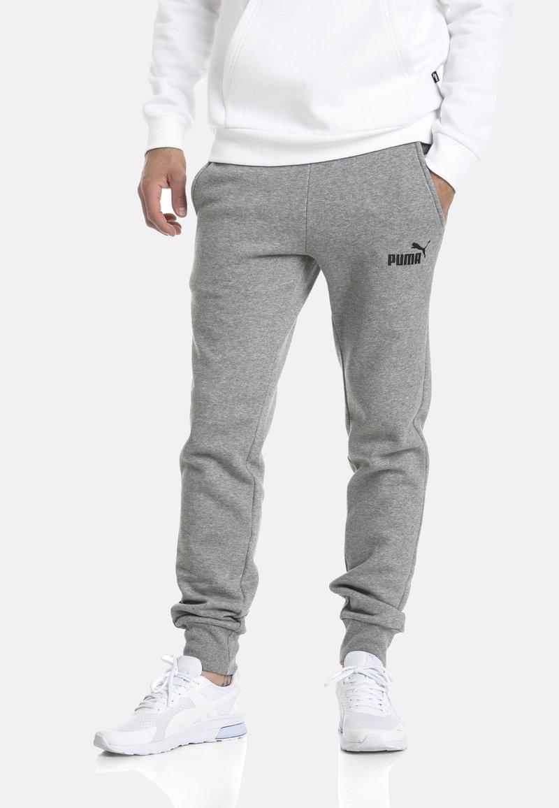 Puma - Tracksuit bottoms - medium gray heather