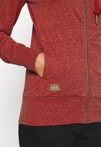 Ragwear - PAYA - Zip-up sweatshirt - red - 5
