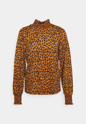 JDYCLAUDE SMOCK - Long sleeved top - honey ginger