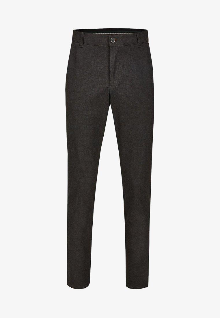 Club of Comfort - GARVEY IM WOLL LOOK - Trousers - dark grey