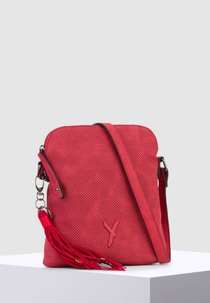 ROMY - Across body bag - red