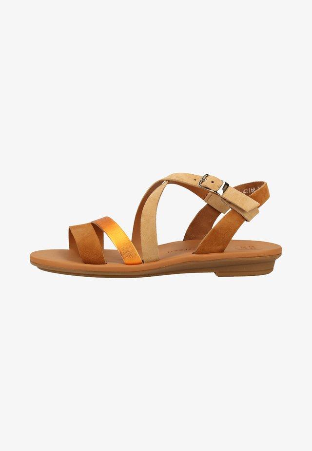 PAUL GREEN SANDALEN - Walking sandals - beige