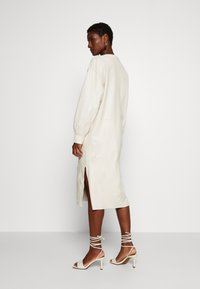 Ibana - DORRIS TUNIC DRESS - Shift dress - cream - 2