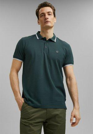 COO F LL - Polo shirt - teal blue