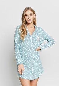 Women Secret - LONG SLEEVES CAMISOLES - Noční košile - green - 0