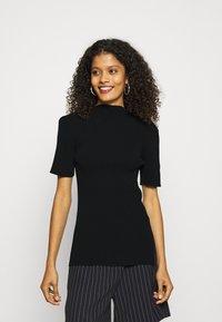 ARKET - Camiseta básica - black - 0