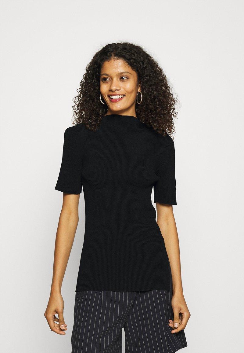 ARKET - Camiseta básica - black