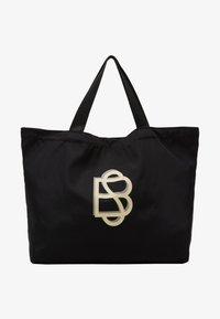 Becksöndergaard - SOLID FOLDABLE BAG - Velká kabelka - black - 1