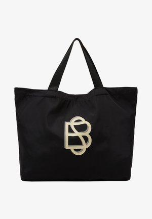 SOLID FOLDABLE BAG - Velká kabelka - black