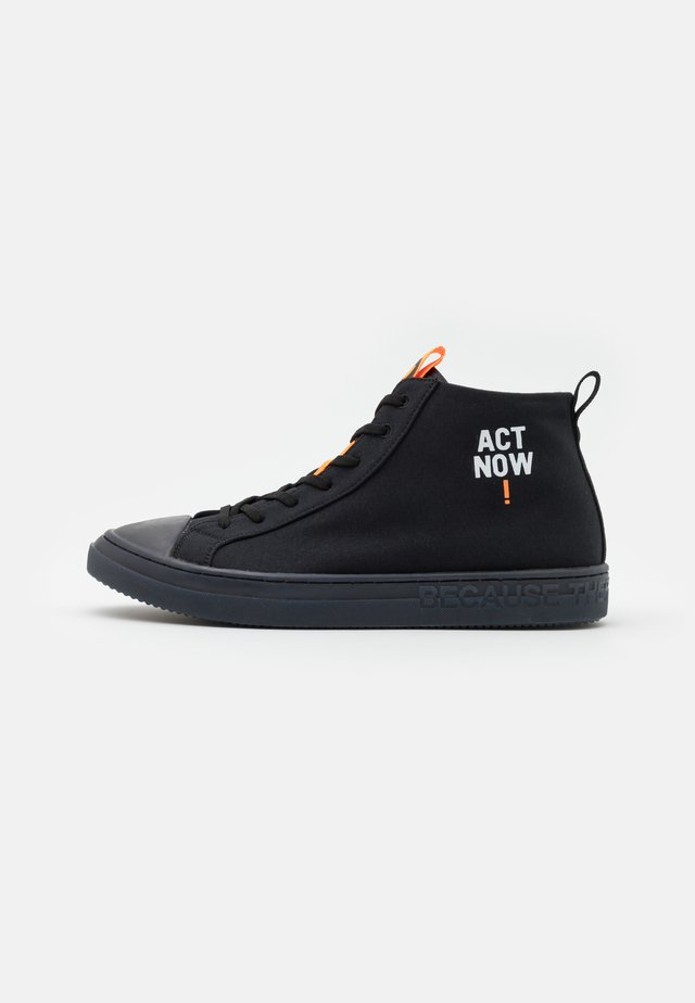 COOL MAN - Sneakers hoog - black