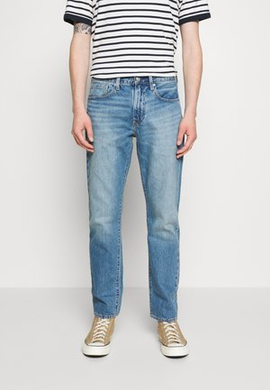 WELLTHREAD 502™ - Džíny Straight Fit - watermark indigo hemp
