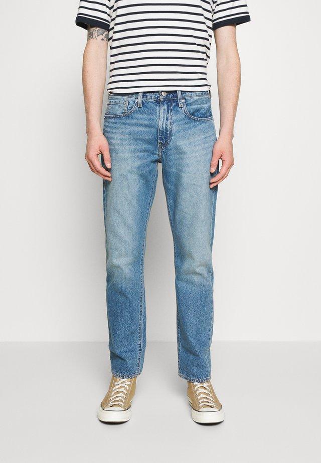 WELLTHREAD 502 - Jeans a sigaretta - watermark indigo hemp
