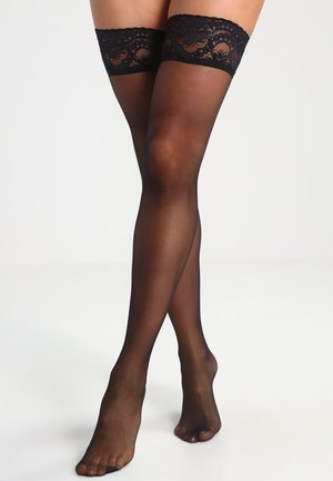20 DEN MYSTIQUE - Over-the-knee socks - black