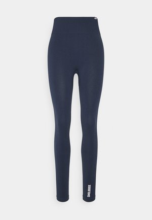SEAMLESS LEGGINGS - Trikoot - blau