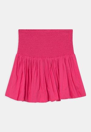 BELLA - Mini skirt - strong pink