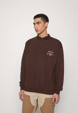 CREST RUGBY UNISEX - Polo - chocolate