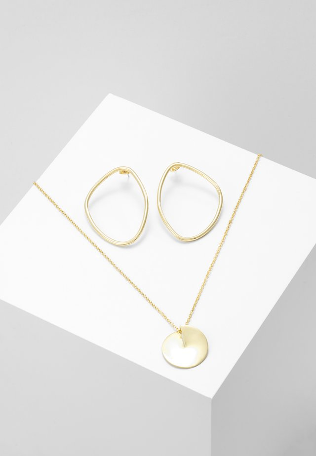 ICONIC SHAPES GIFT SET - Necklace - gold-coloured