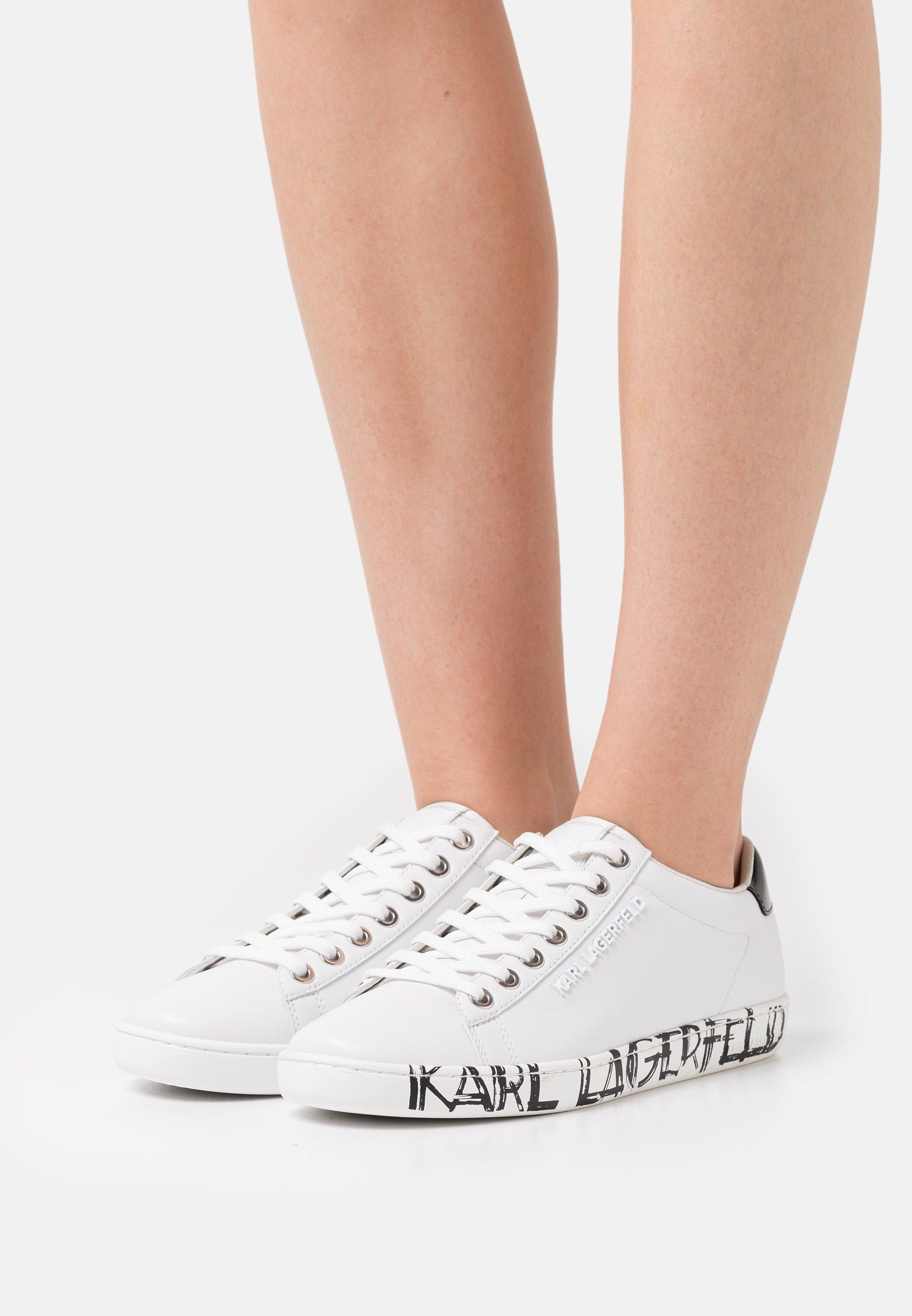 Women KUPSOLE ART DECO LACE - Trainers - white