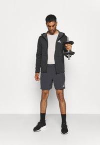 adidas Performance - TRAINING WORKOUT AEROREADY - Krótkie spodenki sportowe - solid grey - 1