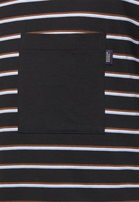 Scotch & Soda - T-shirt med print - dark blue, white, brown - 2