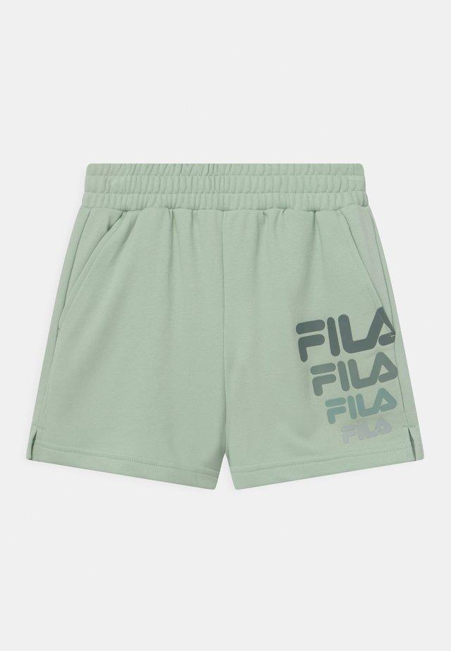 PAULEEN - Shorts - silt green