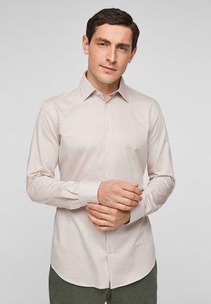 Overhemd - beige stripes