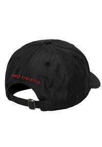 Mister Tee - MISTER TEE HERREN PUSHER HUSTLE DAD CAP - Cap - black/green/red - 4