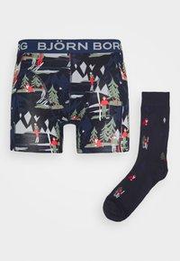 Björn Borg - WINTER WONDERLAND SAMMY SET - Pants - night sky - 3