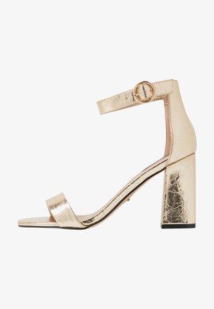 ONLALYX - Højhælede sandaletter / Højhælede sandaler - gold
