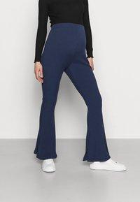 Glamorous Bloom - LADIES FLARES - Spodnie materiałowe - navy - 0