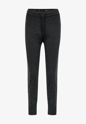Tracksuit bottoms - black melange