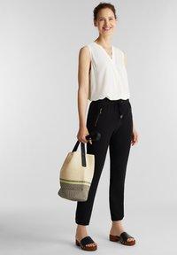 Esprit - Teplákové kalhoty - black - 1