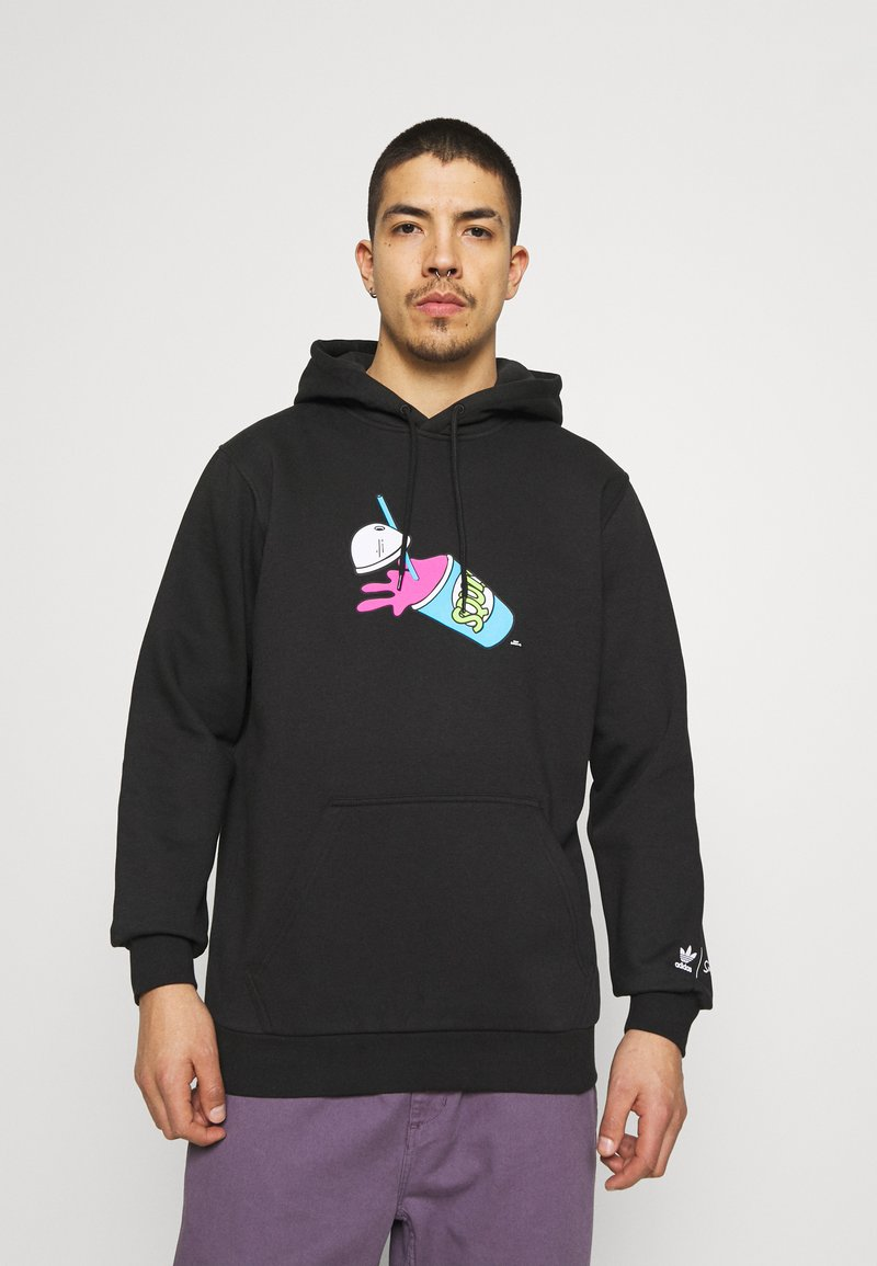adidas Originals - THE SIMPSONS SQUISHEE HOODIE - Hoodie - black