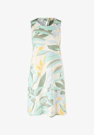 MET RUGHALS - Jersey dress - cream aop